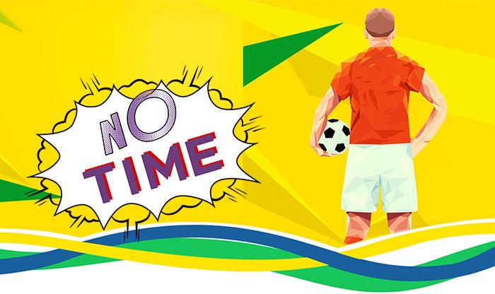 作为上班族的你,没时间看世界杯怎么办